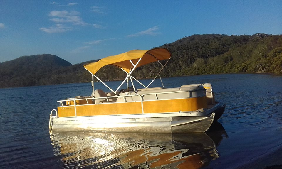 bbq boat forster pacific palms smiths lake myall lakes
